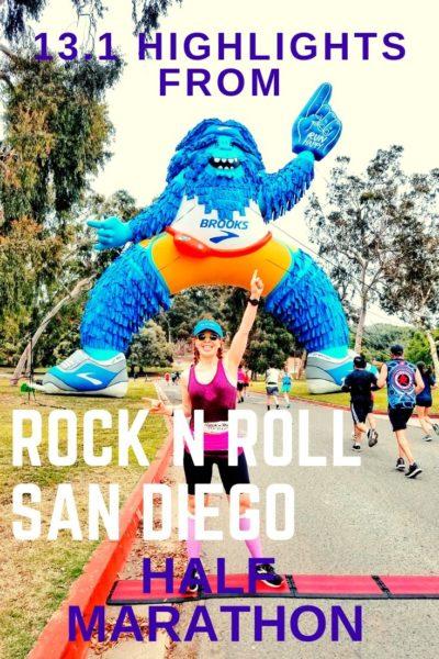 rock n roll san diego race half marathon
